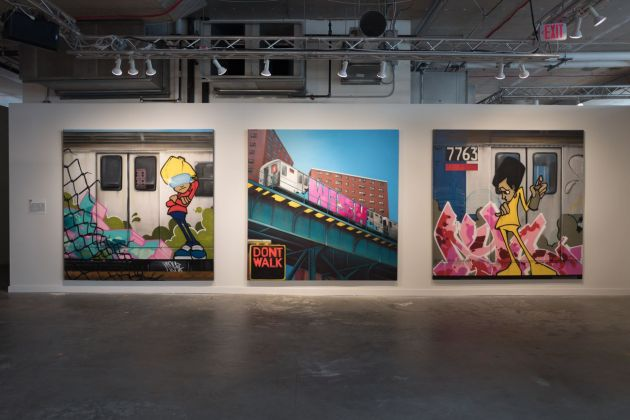 Beyond the Streets. Exhibition view at 25 Kent Ave, New York 2019 CES