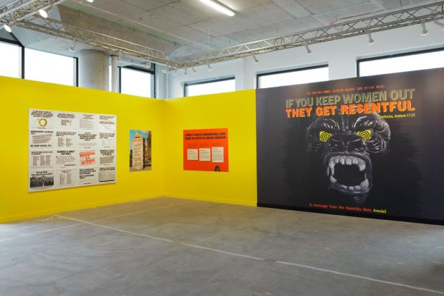 Beyond the Streets. Exhibition view at 25 Kent Ave, New York 2019 Guerrilla Girls