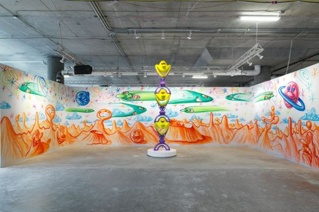 Beyond the Streets. Exhibition view at 25 Kent Ave, New York 2019 Kenny Scharf