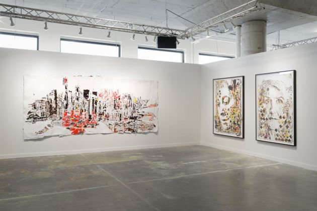 Beyond the Streets. Exhibition view at 25 Kent Ave, New York 2019 VHILS