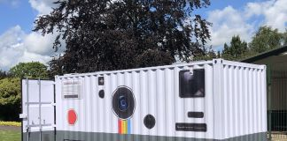 Brendan Barry, Shipping Container Camera, 2019