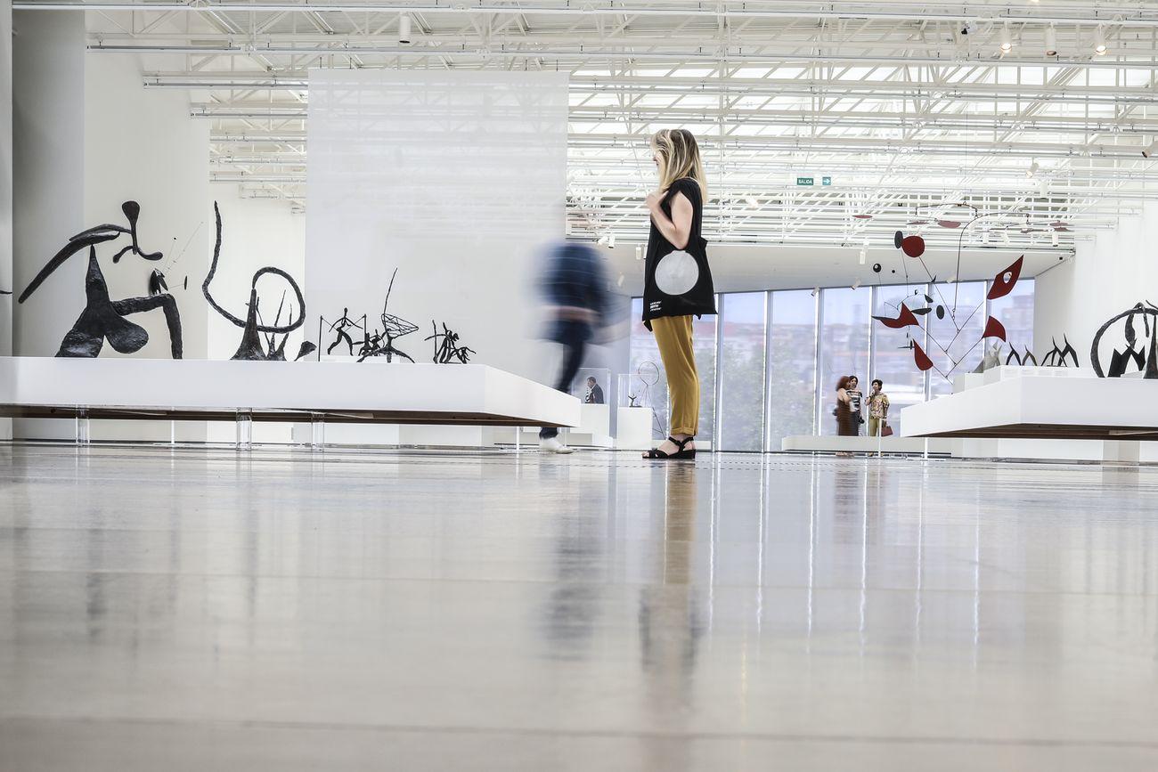Calder Stories. Exhibition view at Centro Botín, Santander 2019