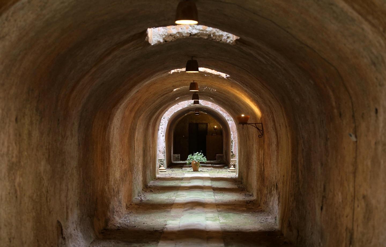 Palermo, Camera dello scirocco di Villa Naselli