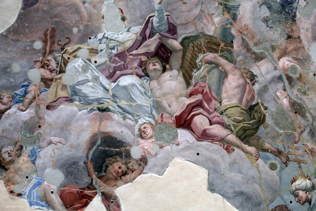 Palermo, Cupola della Chiesa del Santissimo Salvatore