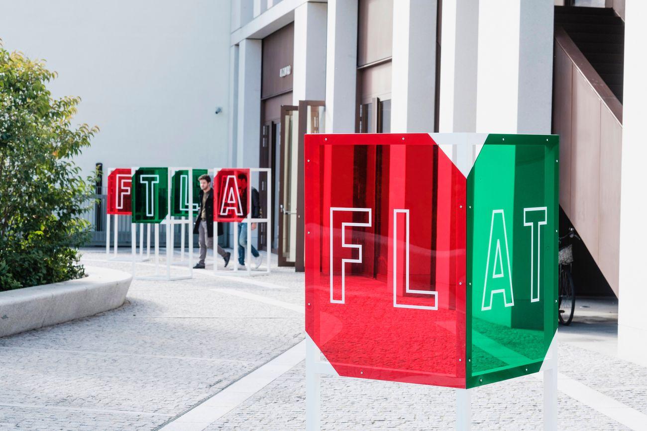 FIONDA (Roberto Maria Clemente), FLAT, 2018