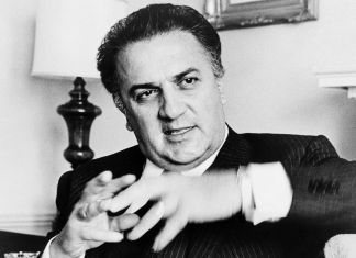 Federico Fellini - via Wikipedia