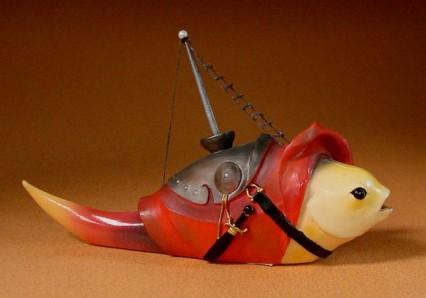 Fish with mast credits Parastone