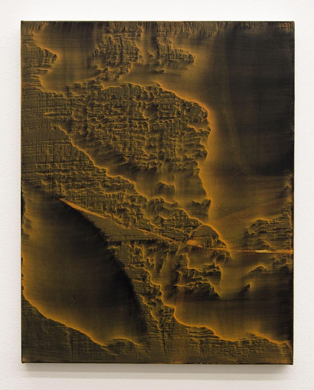 Giuseppe Adamo, Senza Titolo, 2018, acrilico su tela, 50x40 cm