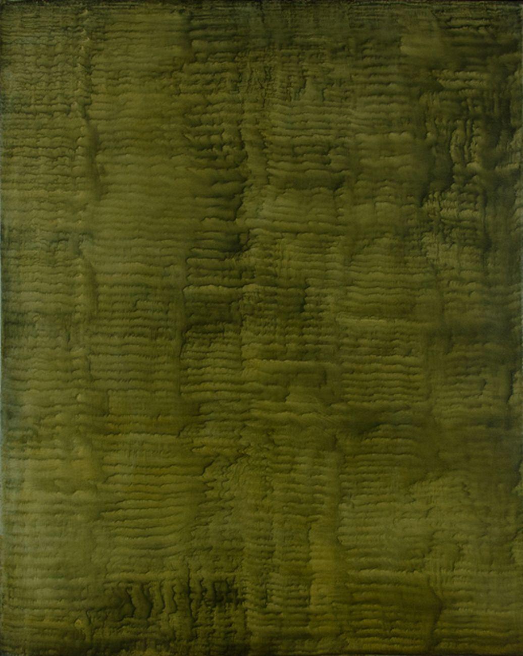 Giuseppe Adamo, Sulcus 02, 2016, acrilico su tela, 100x80 cm