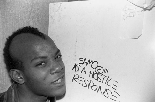 Jean-Michel Basquiat. Photo Dumas