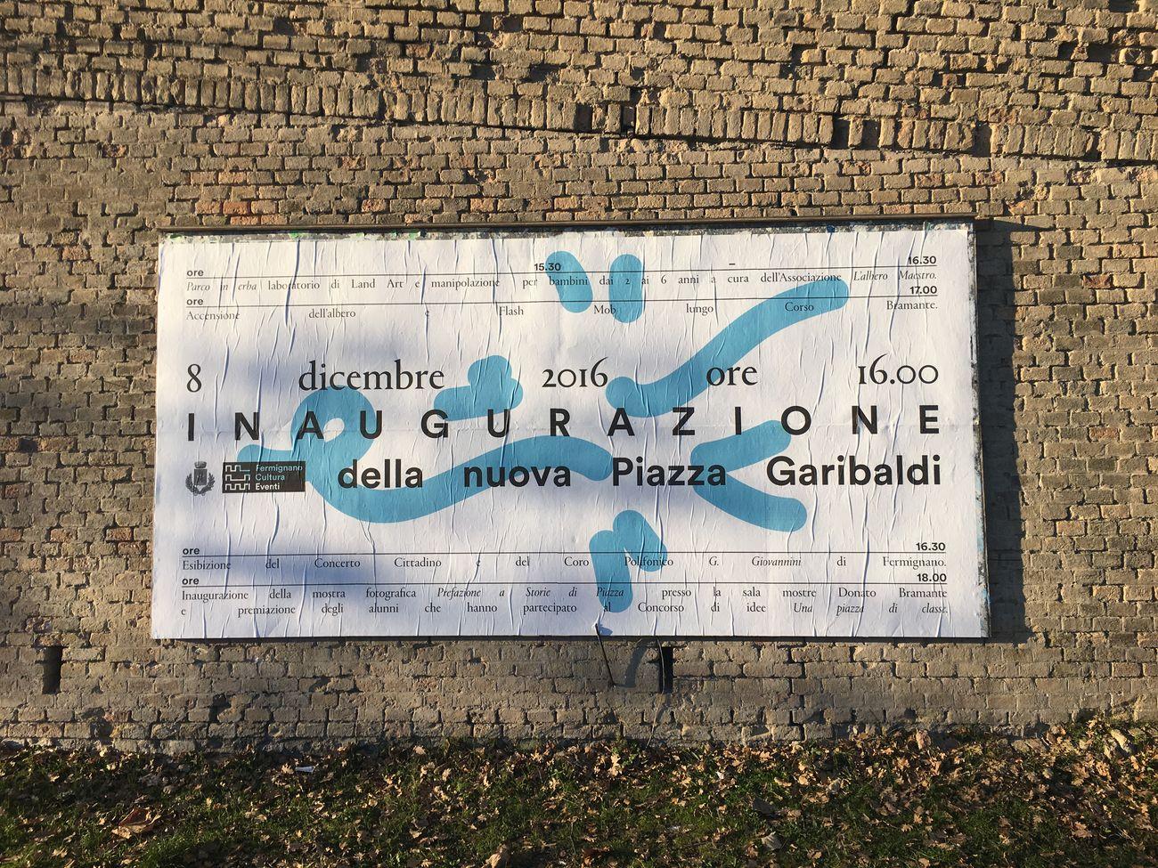 Jonathan Pierini, Identità coordinata e sistema di comunicazione murale per il settore Cultura e Turismo del Comune di Fermignano (PU), 2016