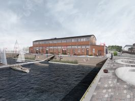 Rendering del Kai Art Center (Rendering by KAOS Architects)