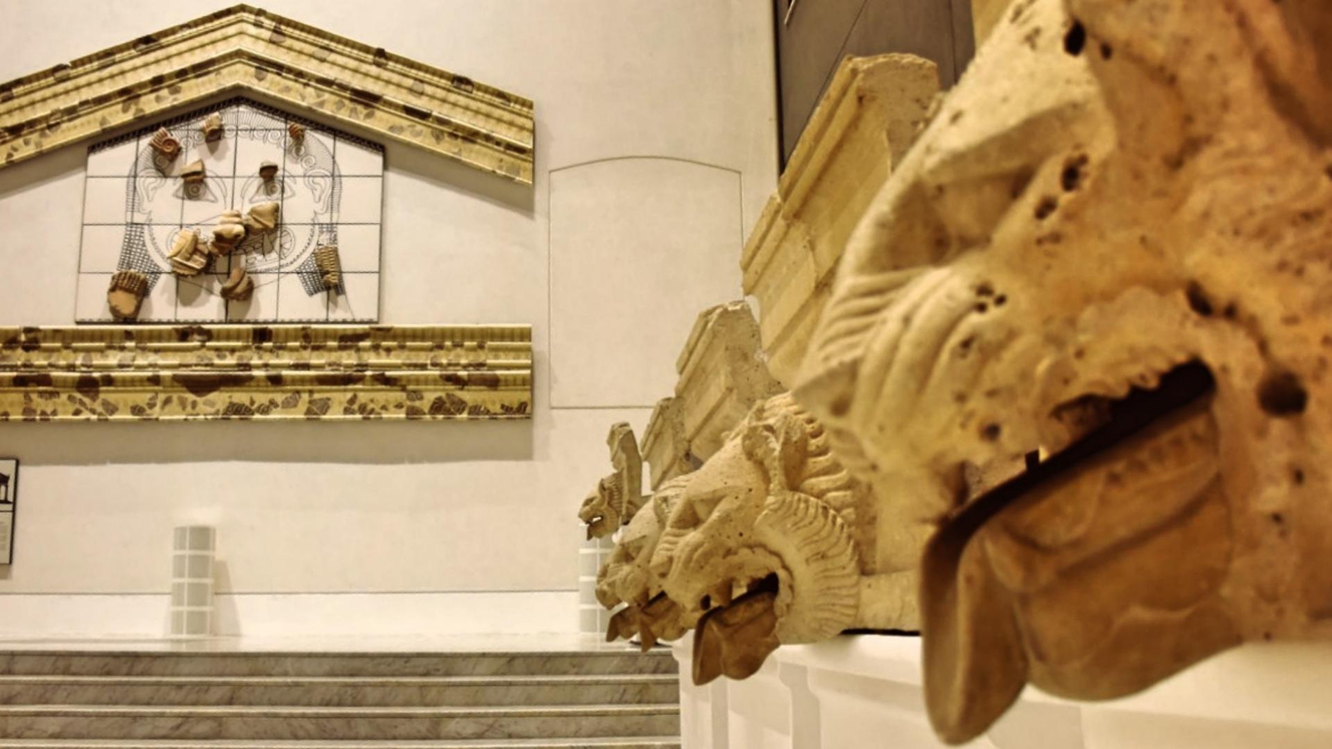 L'Agorà del Museo Antonino Salinas