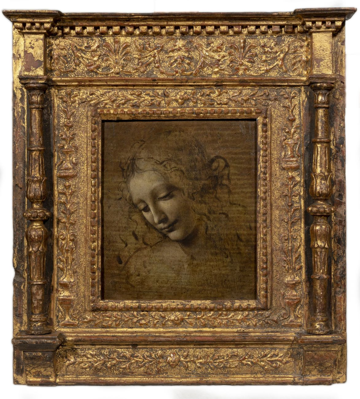 Leonardo da Vinci, La Scapiliata. Parma, Complesso Monumentale della Pilotta, Galleria Nazionale. Photo di Lorenzo Moreni