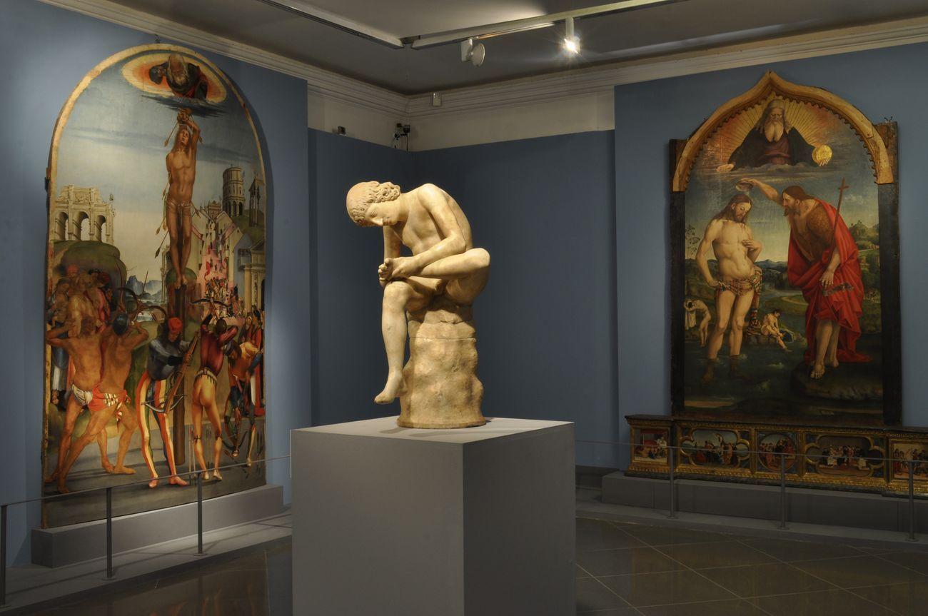 Luca Signorelli e Roma. Oblio e riscoperte. Exhibition view at Musei Capitolini Palazzo Caffarelli, Roma 2019