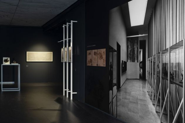 Lucio Fontana. Omaggio a Leonardo. Exhibition view at Museo del Novecento, Milano 2019. Photo Alberto Messina