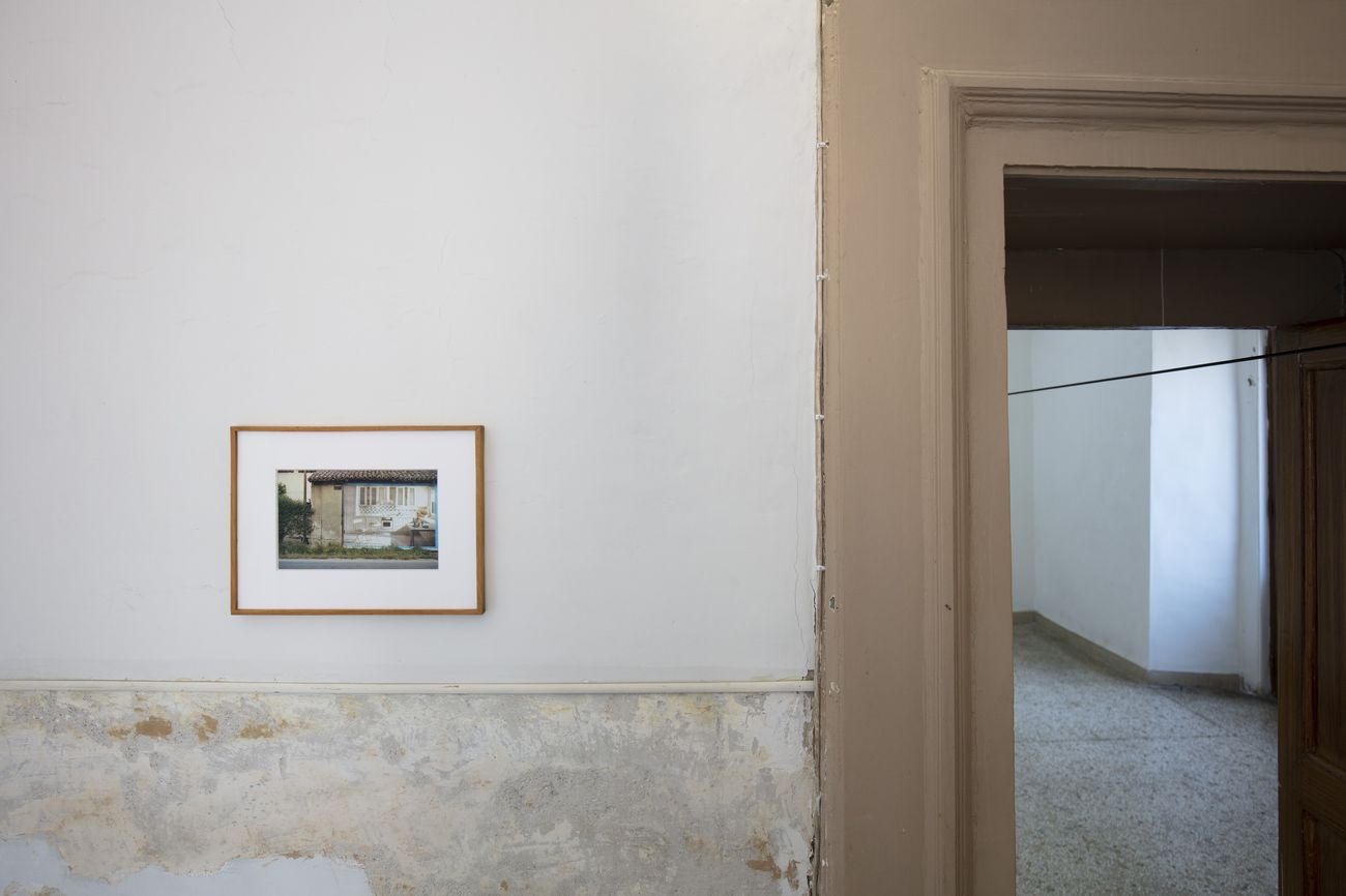 Luigi Ghirri, Parma, 1985. Installation view at Fondazione Morra, Napoli 2019