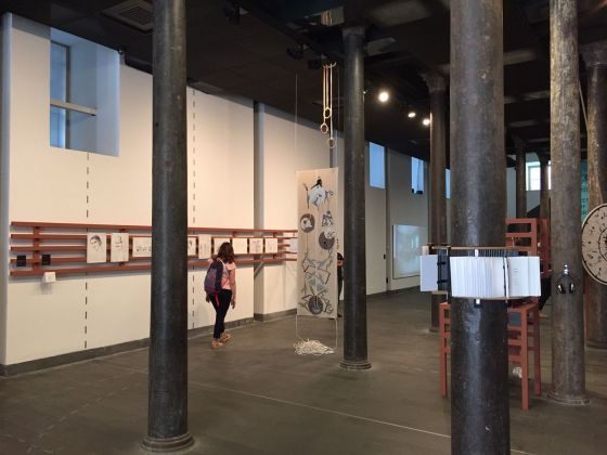 Maria Andersson e Nancy Atakan, Uygun Adım Marş! (Forward, March!), 2019, exhibition view, SALT Beyoğlu, Istanbul