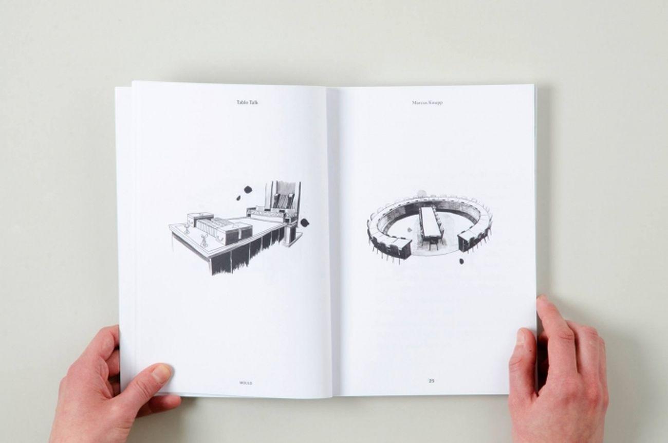 Mould #1 Cultures of Assembly a cura di Markus Miessen. Un progetto di Alessio Cancellieri e Jonathan Pierini, 2013. Progetto grafico con Claudia Polizzi