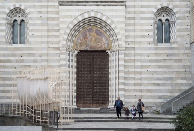 New Generations Festival, Genova 2015. Installazione Bent, curata da Appareil e Margherita del Grosso. Photo credit © Anna Positano