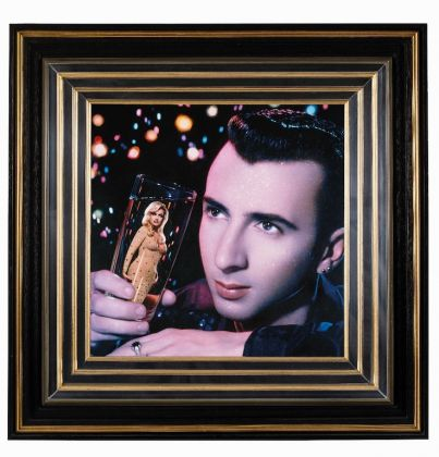 Pierre et Gilles, A Lover Spurned (Marc Almond and Marie France Garcia), 1989. Hand painted photograph. Gallerie Templon. Courtesy of the artists and Galerie Templon, Paris Brussels (