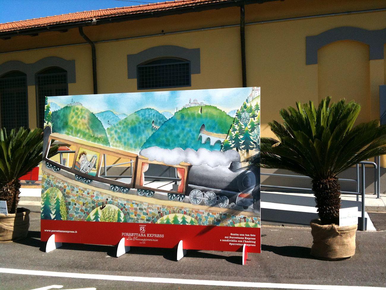 Porrettana Express. Photo Claudia Zanfi