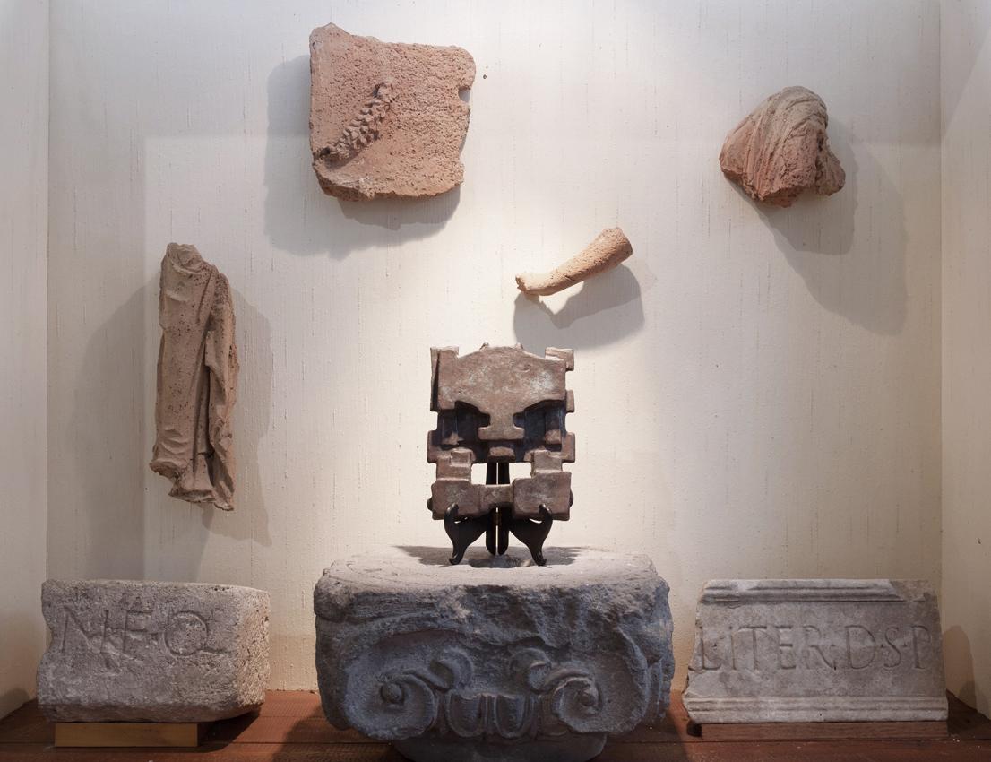 Adam Cruces, installation view Fondante, 2017, Museo della frutta, Torino ph.S.Pellion di Persano
