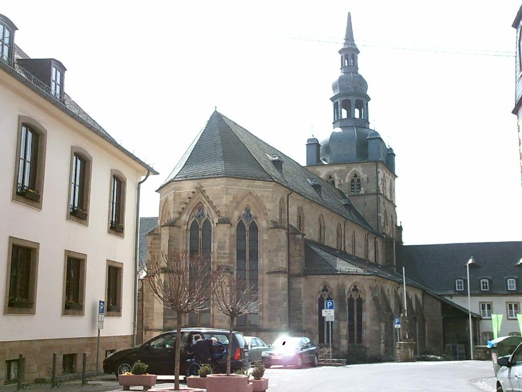 Abbazia benedettina di Tholey, a Saarland, Germania. Fonte Wikipedia