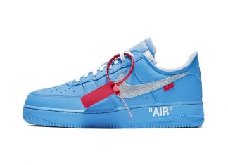 Virgil Abloh, Nike Air Force. Courtesy Museum of Contemporary Art, Chicago