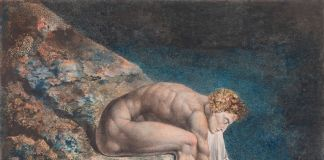 William Blake, Newton 1795 c. 1805, Tate