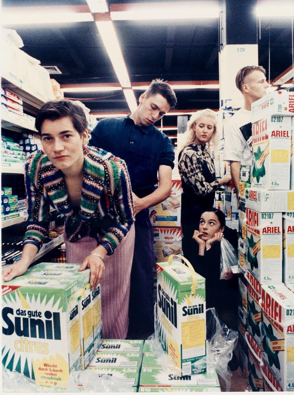Wolfgang Tillmans, Chris supermaket, 1990. Mart, Deposito Eredi Alessandro Grassi