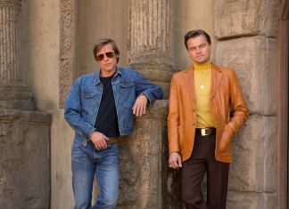 """Brad Pitt and Leonardo DiCaprio star in Columbia Pictures """"Once Upon a Time in Hollywood"""""""