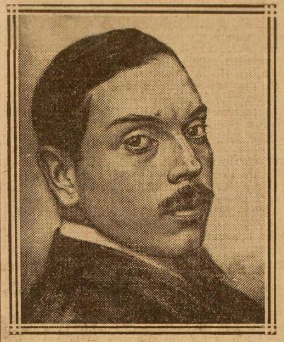 Ángel Zárraga, in un disegno pubblicato su Le Populaire, 1925