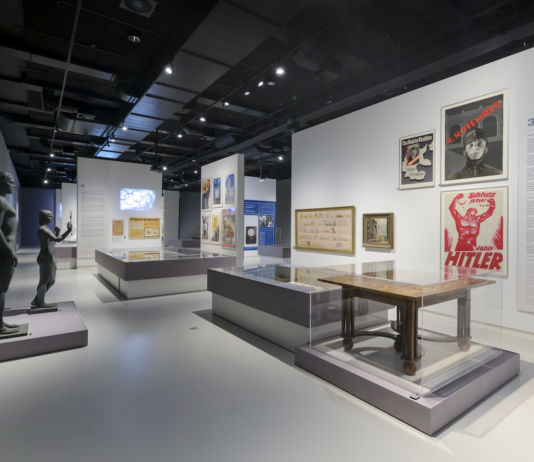 Design of the Third Reich, installation view. Courtesy photo Design Museum Den Bosch