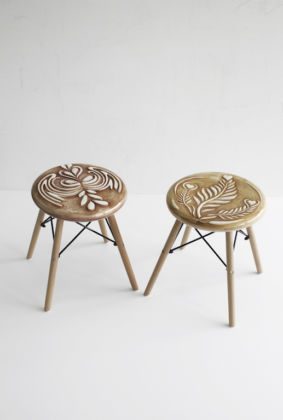 Diego Cibelli Generosity Chairs, 2018-2019 ceramic and wood Courtesy the artist