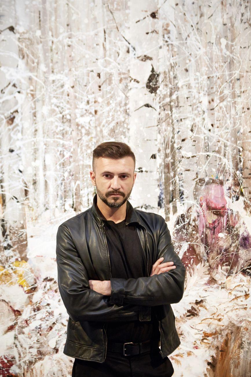 Adrian Ghenie, 56t. Biennale d'Arte – La Biennale di Venezia, Padilgione Romania, 2015. Photo Mathias Schormann. Courtesy the artist & Plan B, Cluj Berlino