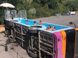 Benedetto Bufalino, The Bus Pool, 2019 Courtesy of the artist