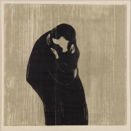 Edvard Munch, Il bacio, 1902. Collezione privata, courtesy Galleri K, Oslo. Photo Reto Rodolfo Pedrini