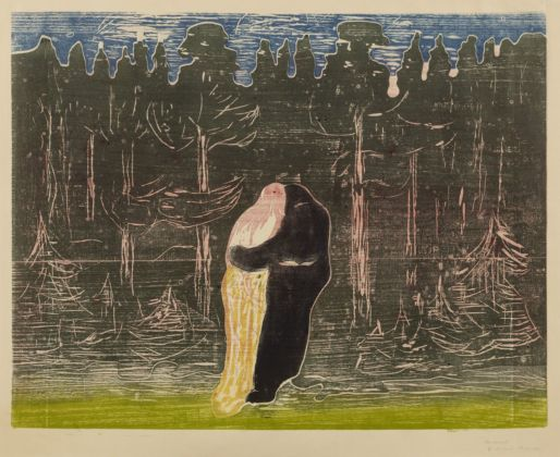 Edvard Munch, Verso la foresta II, 1915. Collezione privata, courtesy Galleri K, Oslo. Photo Reto Rodolfo Pedrini