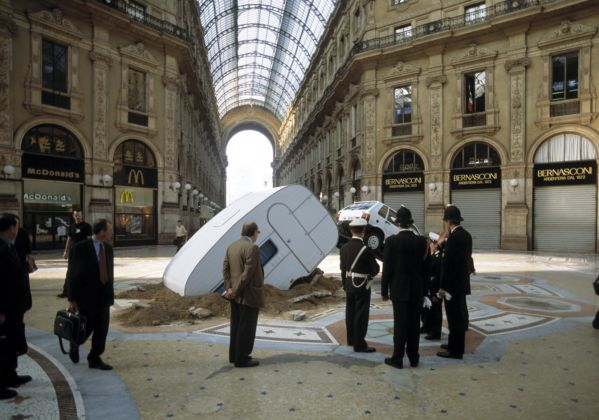 Elmgreen & Dragset – Short Cut, 2003, Mixed media installation, 250 x 850 x 300 cm