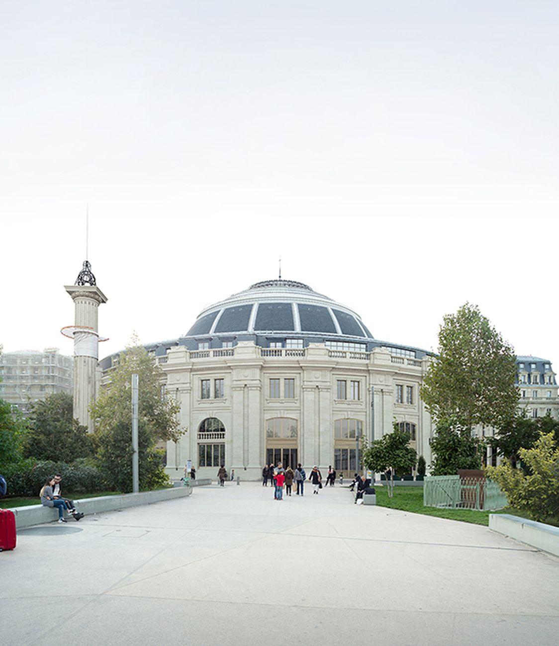 Ex Bourse de Commerce a Parigi. ArtefactoryLab, TAAA, NeM, Agence PAG. Courtesy Collection Pinault Paris
