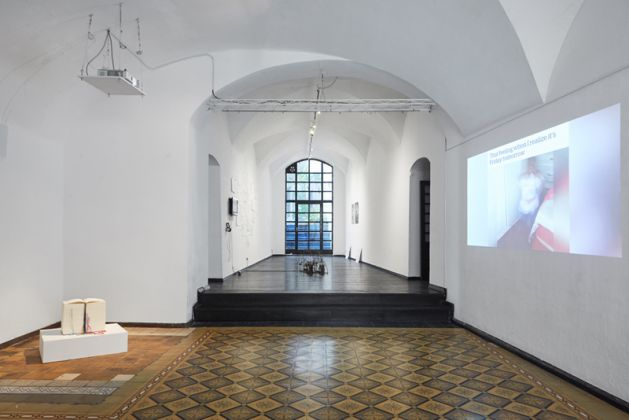 Exhibition view, Talking (about) Images, 2019, Škuc Gallery, Ljubljana, Photo Klemen Ilovar