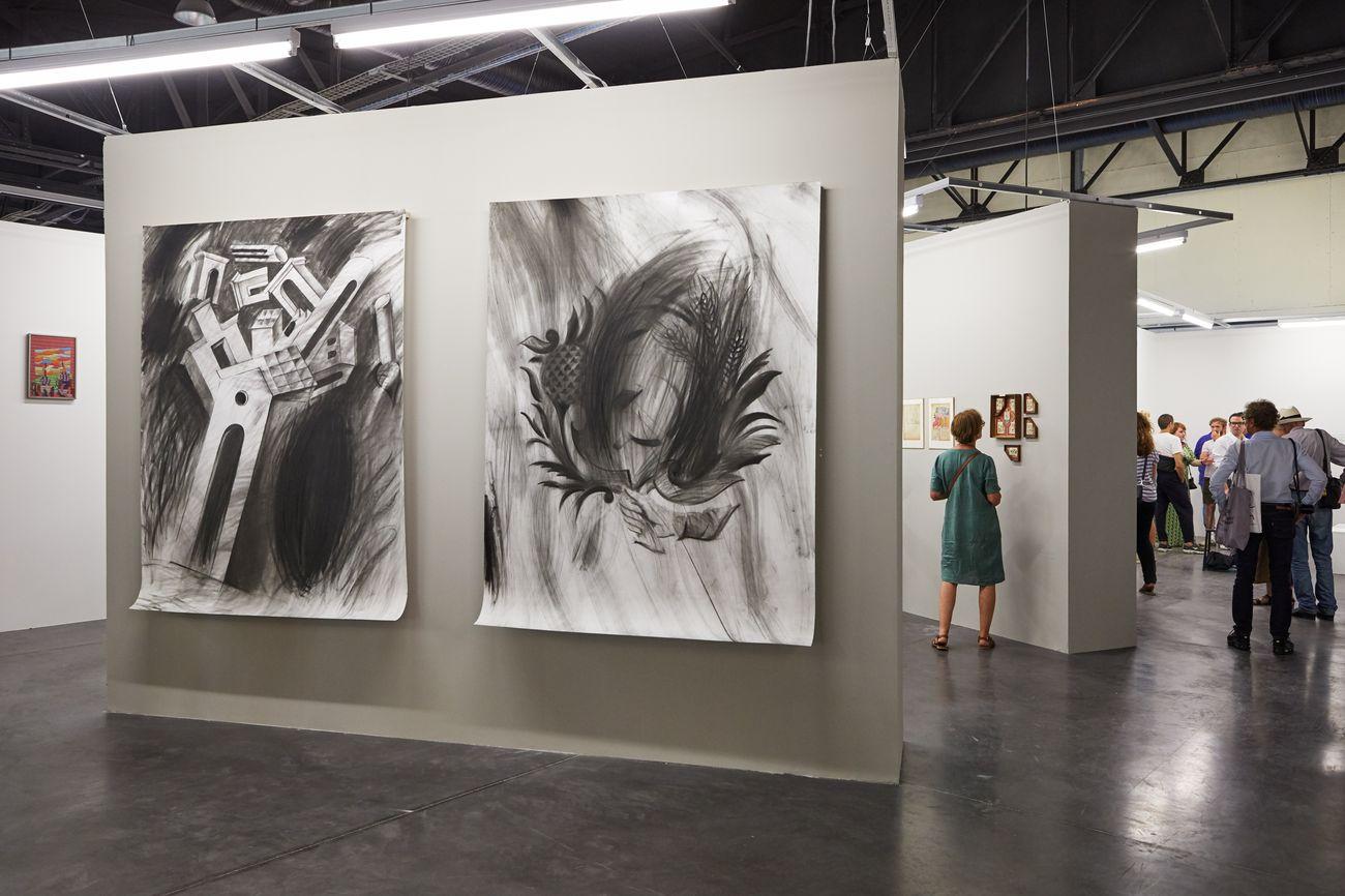 Galerie Jérôme Poggi, Parigi, Art O Rama 2019, Marsiglia, credit Art O Rama © Jean Christophe Lett