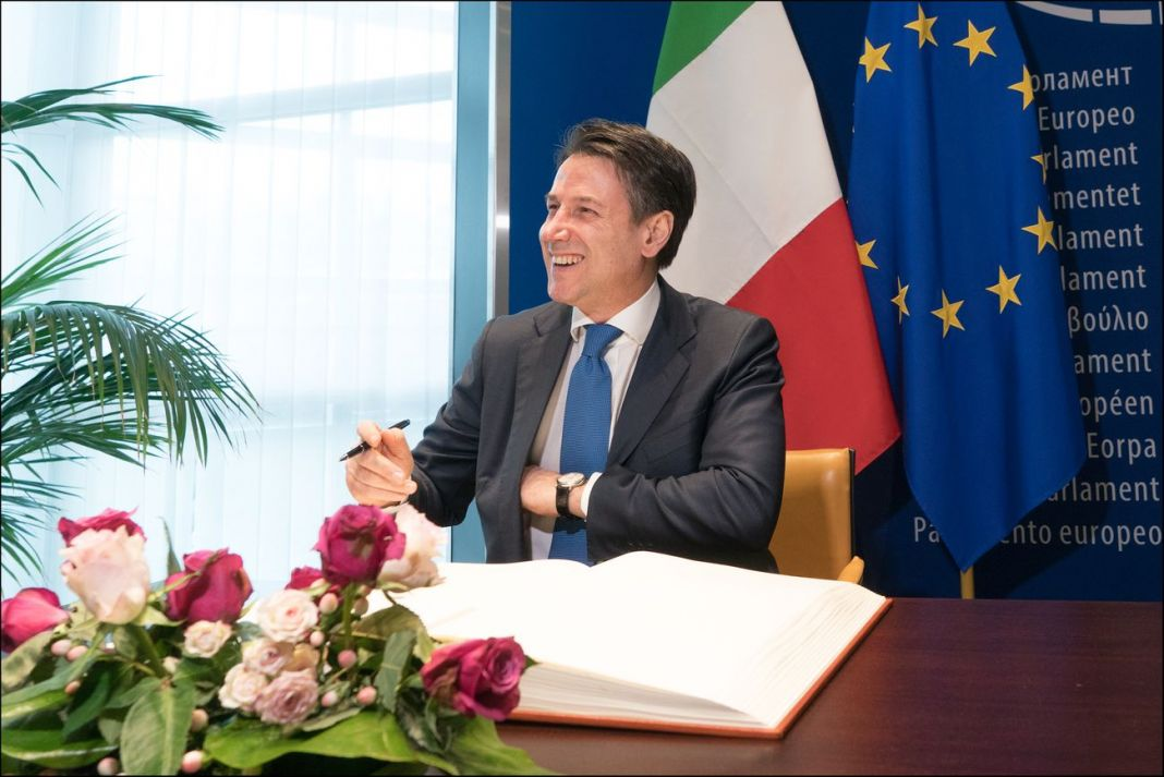 Giuseppe Conte. CC BY 4.0 © European Union 2019 – Source EP