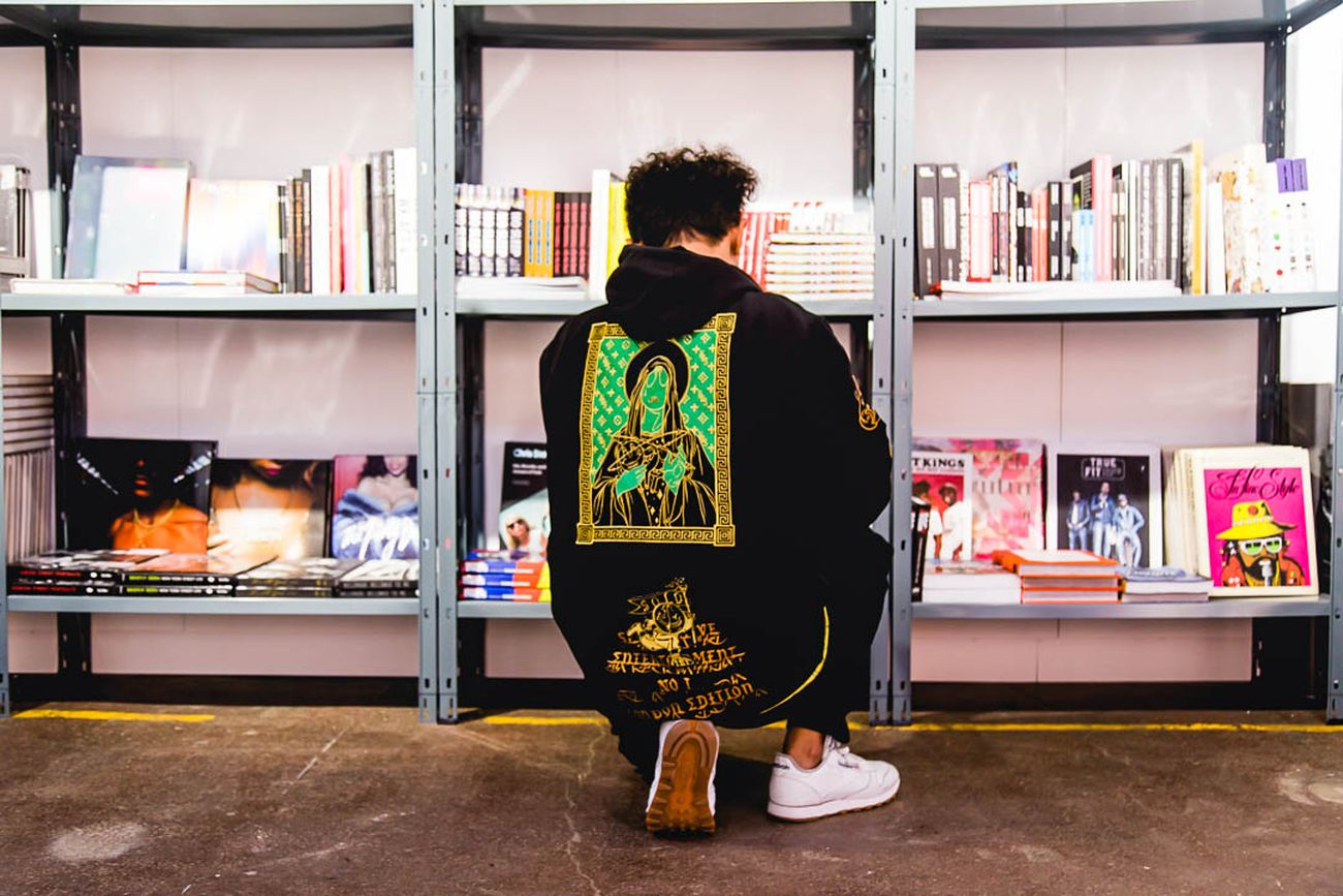 Il pop up bookstore di Le Grand Jeu alla Moniker Art Fair di Londra, 2018. Photo credits Moniker Art Fair