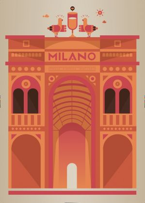 Illustrazione, Francesco Poroli magazine, BASE Milano