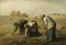 Jean François Millet, 'The Gleaners', 1857, Oil on canvas, 83,5 x 110 cm, Musée d'Orsay, Paris