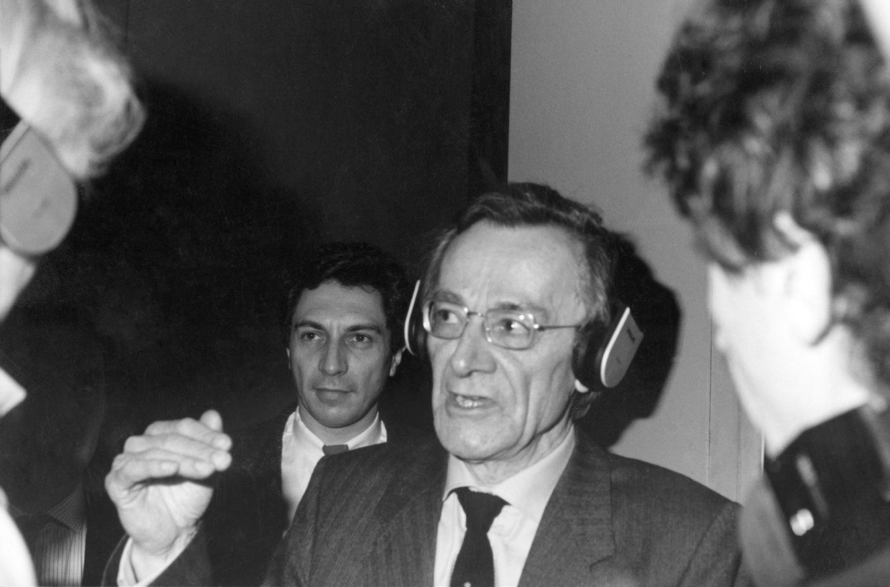 Jean Francois Lyotard che trappa