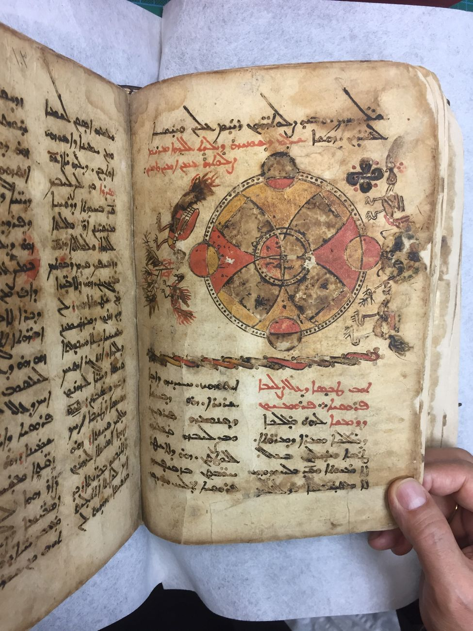 L'antico messale in aramaico siriano restaurato dall'Istituto Centrale per il Restauro e la Conservazione del Patrimonio Archivistico e Librario di Roma