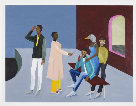 Lubaina Himid, Le Rodeur. The Exchange, 2016. Courtesy the artist & Hollybush Gardens. Photo Andy Keate